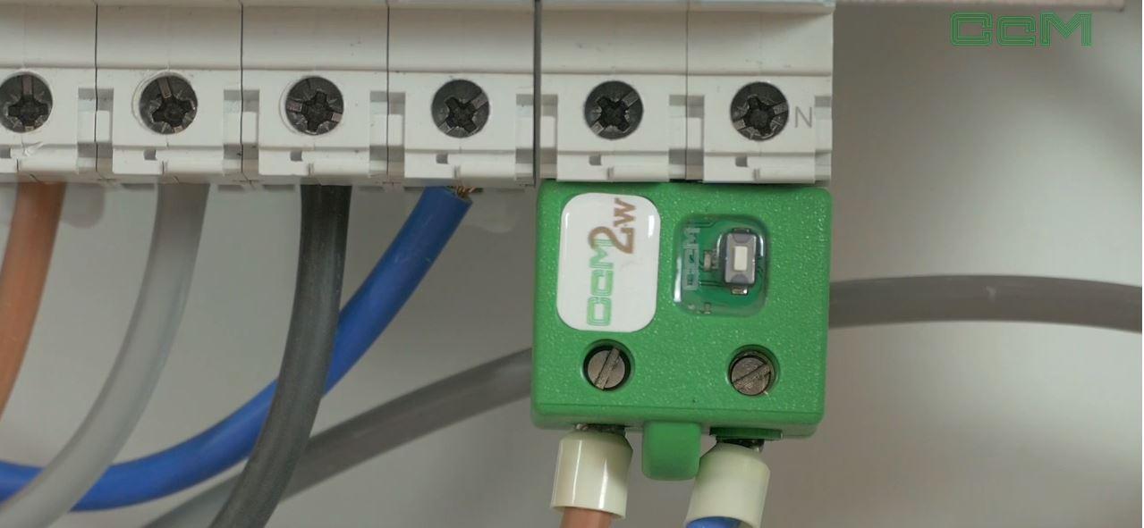 Instalación del Smart meter CcM2