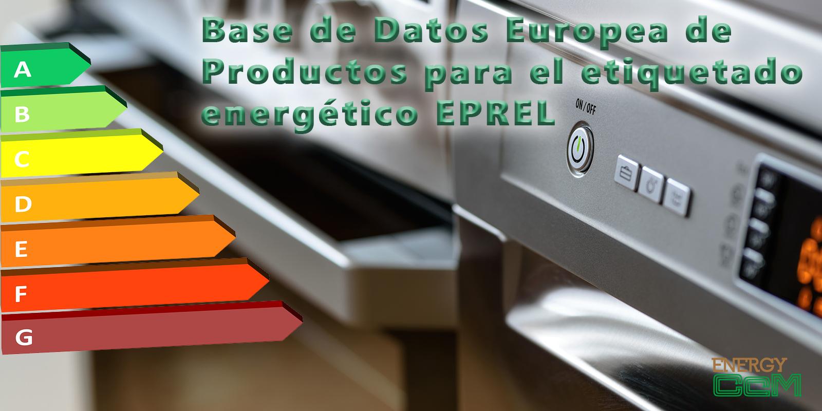 Base de datos etiquetado energético
