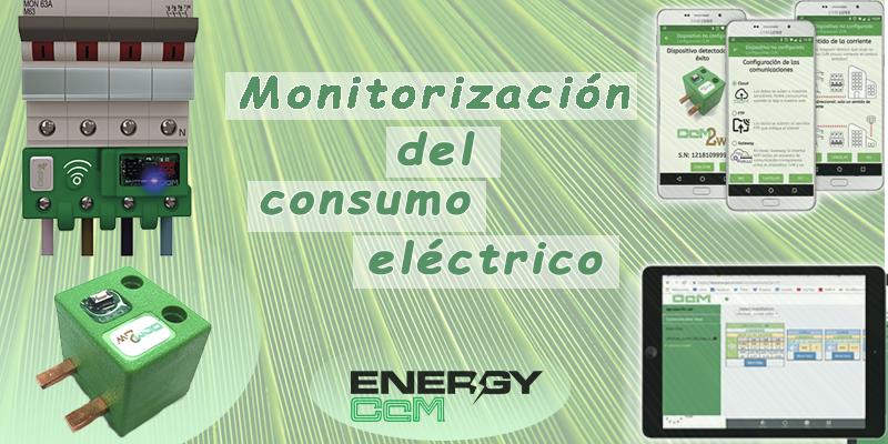 Monitorización de energia eléctrica
