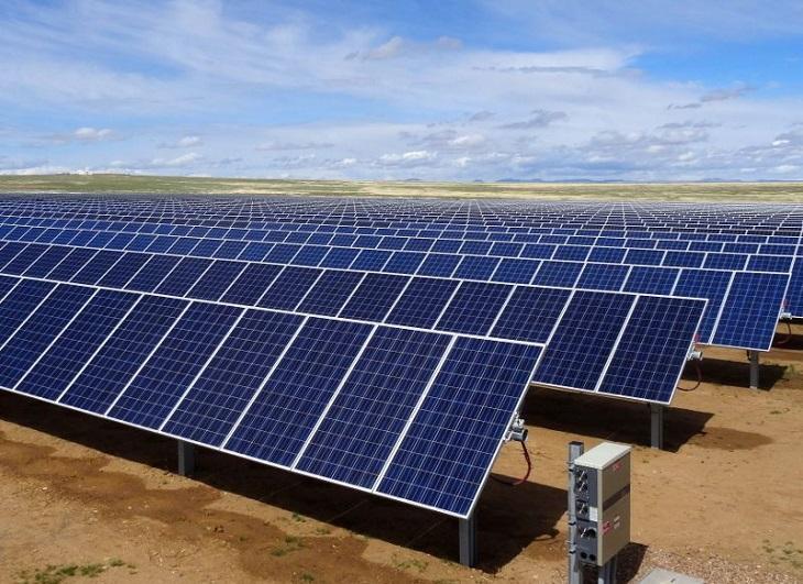 Medidor de corriente para planta fotovoltaica