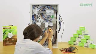 Instalación del medidor de corriente CcM1