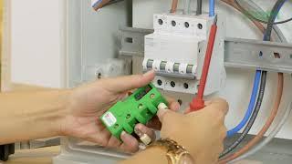 instalación smart electricity meter CcM4