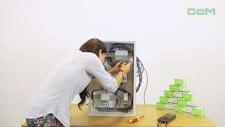 Instalación del contador inteligente CcM2-Wifi