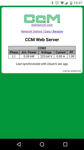 Embedded CcM software