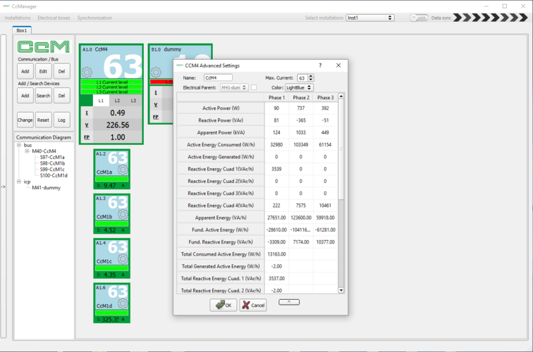 Software de gestión CcManager para Smart meter